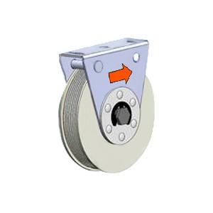 Poleas de resorte diámetro de 118mm