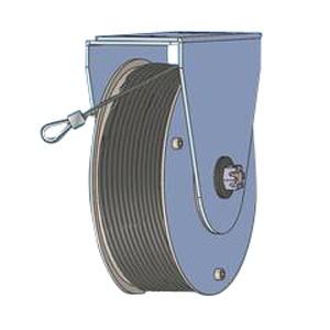 Poleas de resorte diámetro de 177mm