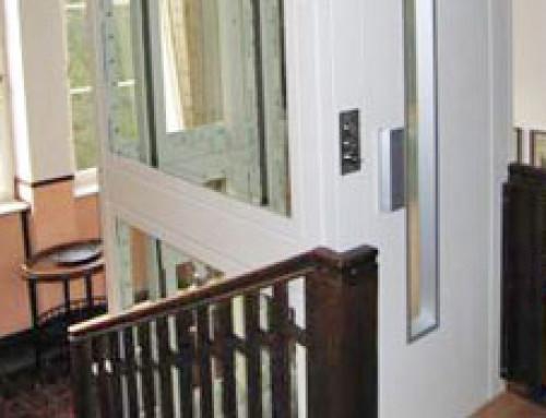 El Homelift DHM crea accesibilidad también en espacios reducidos