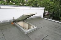 Gasfedern öffnen Dachklappe sanft und ohne Kraftanstrengung