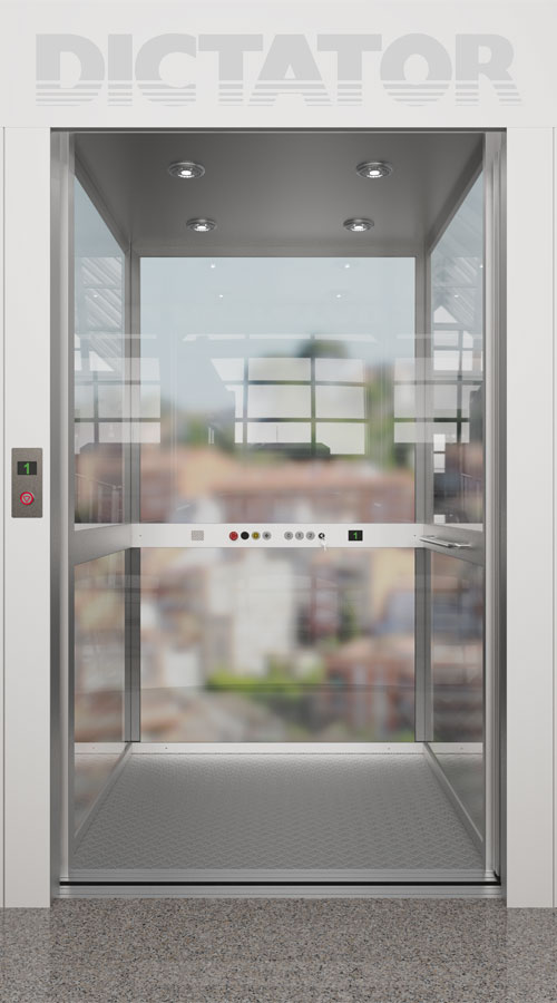 Configurador de Homelift: cabina de cristal
