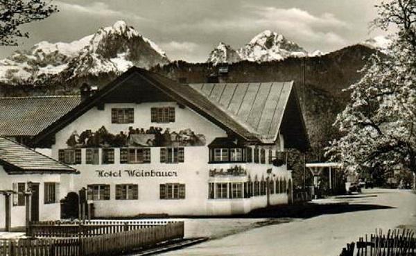 Hotel Weinbauer ca. 1950