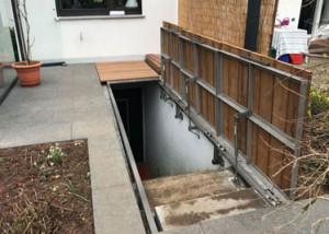 Kellerabgang Gasfeder Vorschau