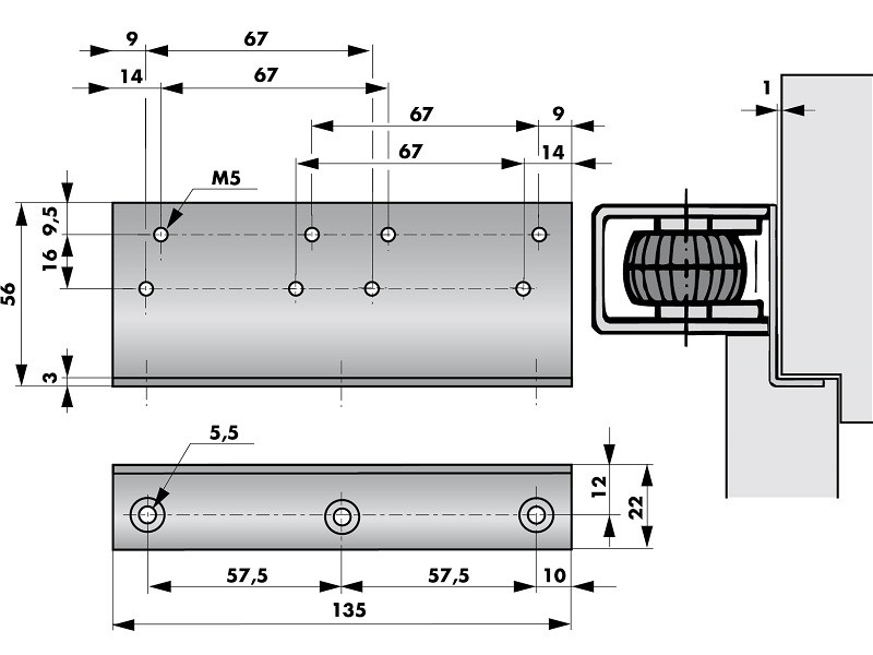 Montagewinkel VS2000 205220