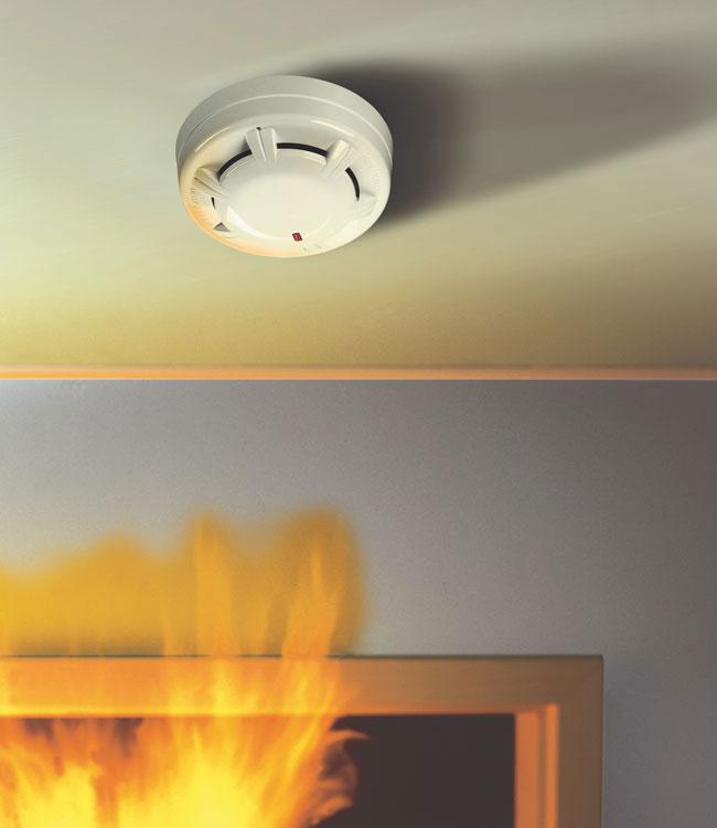 Detectores de humo detectores de temperatura sistemas de bloqueo