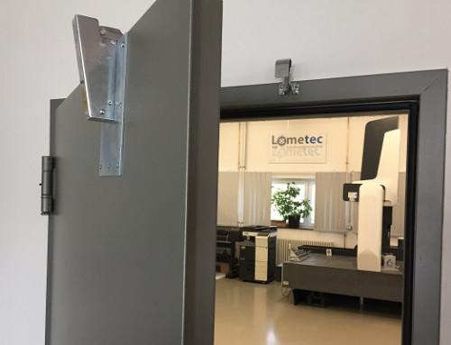 Retenedor de puertas evita mediciones erróneas de instrumentos de medición de alta precisión