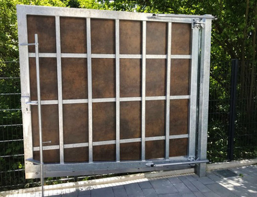 Puertas batientes exteriores – Cierre seguro y sin accidentes también en circunstancias difíciles